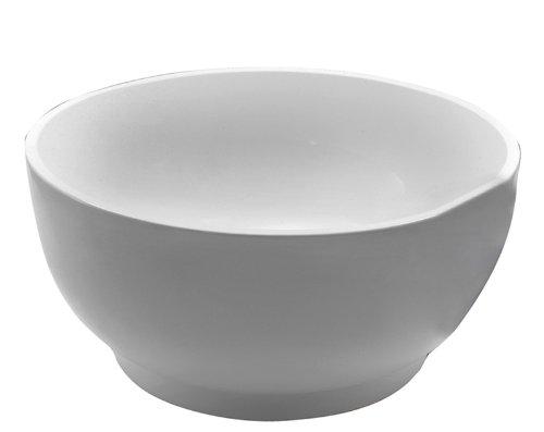 Barclay ATRNDN51-WH Wisteria Acrylic Round Tub In White