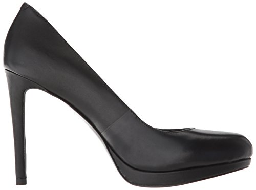 Nine West Black Women's Pump Quabree Leather 1OPax1q8