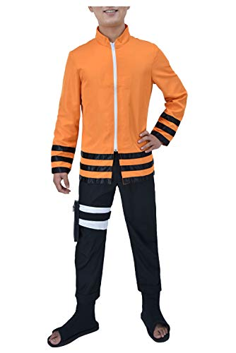 (DAZCOS US Size The Last Uzumaki 7th Cosplay Costume (Men)