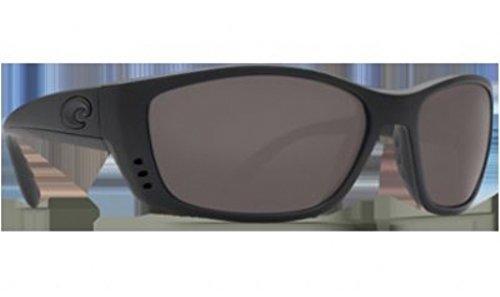 Costa Del Mar Fisch Sunglasses FS 01 OGP Blackout/Gray - Del Fisch Mar Costa Sunglasses