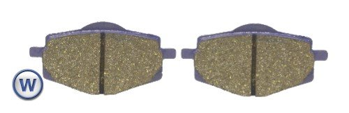 Yamaha XT 225 (Disc Front & Drum Rear) (USA) 1992-2000 Brake Disc Pads Kyoto - Front Right (Pair):