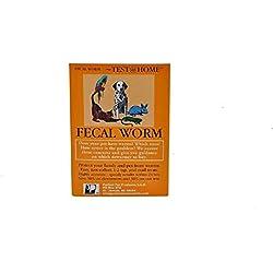 RJ matthews Dog Cat Bird Rabbit Iguana Animal Fecal Worm Severity Do It Yourself at Home Kit