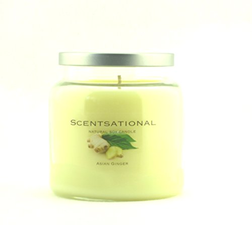 Asian Candle - Scentsational Soaps & Candles Natural Soy Wax Candle Asian Ginger