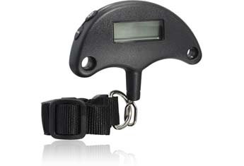 - Digital Luggage Scale Holds 75 pounds Electronic