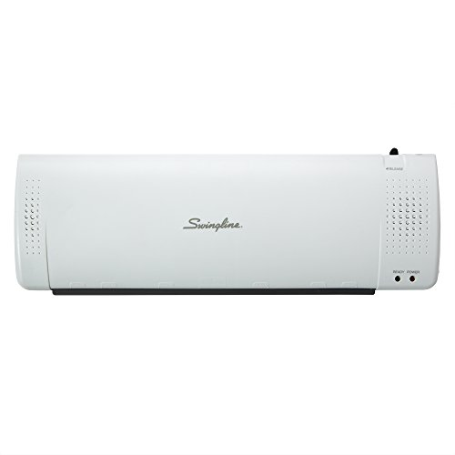 Swingline Laminator, Thermal, Inspire Plus Lamination Machine, 12'' Max Width, Quick Warm-up, Includes Laminating Pouches, White / Gray (1701867) by Swingline (Image #3)