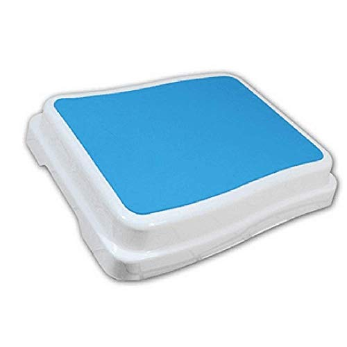 Wefaner Portable Bath Step Stool Stack-Able Safety Aid Disability Non Slip Shower Step