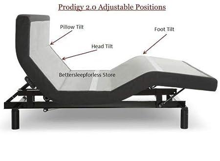 Amazon.com: Leggett y Platt Prodigy 2.0 Base de cama ...