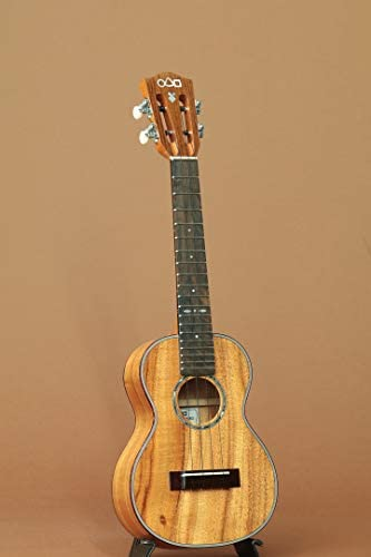 【占部弦楽器製作所/Urabe】L-46 Hawaiian Koa Slotted Concert/日本製