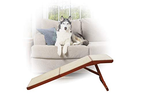 Sofa Ramp, 45 in. L Wood Pet Ramp Supports Cats and Dogs Up to 100 lb. ()