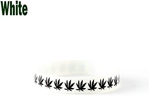 Weed hierba pulsera correa de muñeca Pulsera de Cannabis marihuana banda