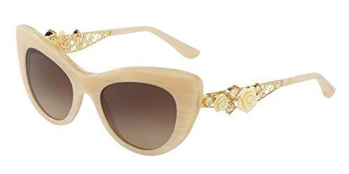 Sunglasses Dolce & Gabbana DG 4302BF 308413 WHITE - White Glasses Dolce And Gabbana