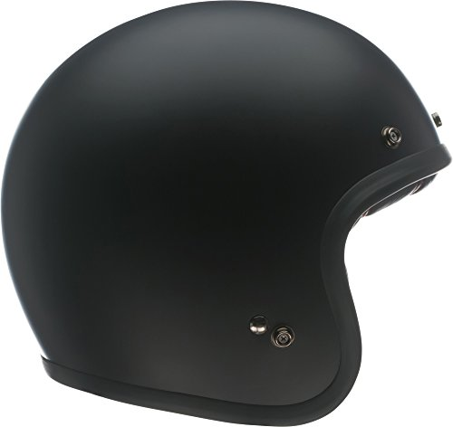 Bell Custom 500 Open-Face Motorcycle Helmet (Solid Matte Black, Medium)