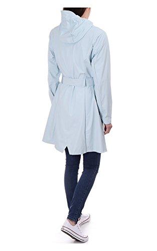 16 wan Rains Blue Blouson Turquoise Femme qnz8C