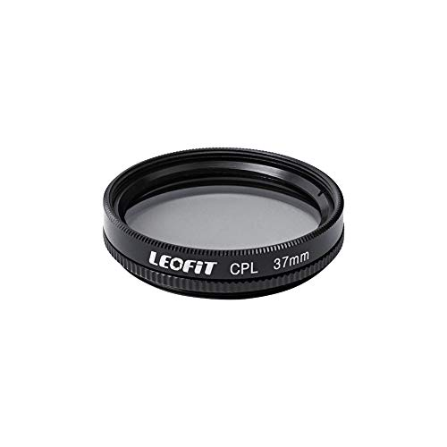 leofit 37mm Circular Polarizing Filter for Camera Lenses Weather Sealed by Breakthrough Photography