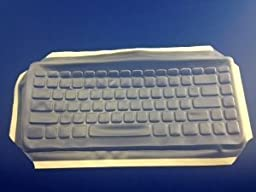 Viziflex\'s formfitting keyboard cover for VERBATIM KG0977 97472 693G85