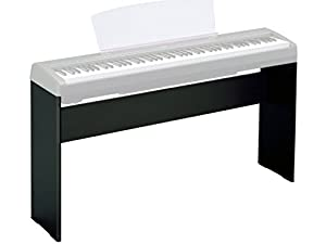 Yamaha l85 digital piano stand black for Yamaha keyboard amazon