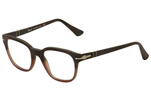 Persol Pour de lunettes Black Homme Gradient 3093 9025 Montures Red Tortoise 48mm HrIwqr