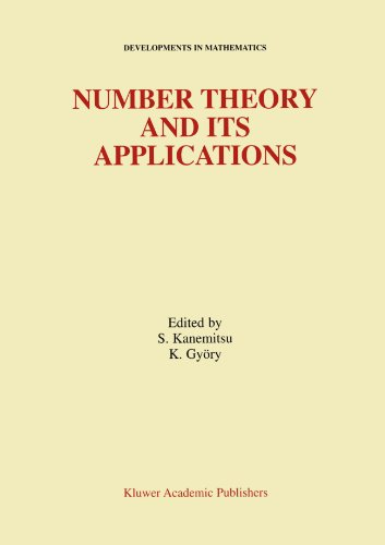 Number Theory and Its Applications (Developments in Mathematics)