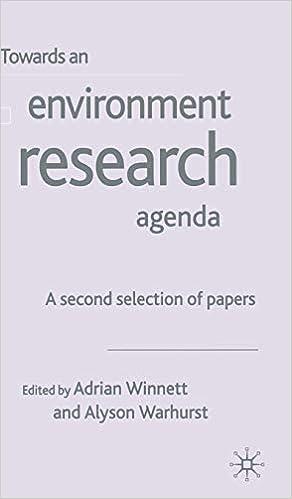 Towards a Collaborative Environment Research Agenda: A ...