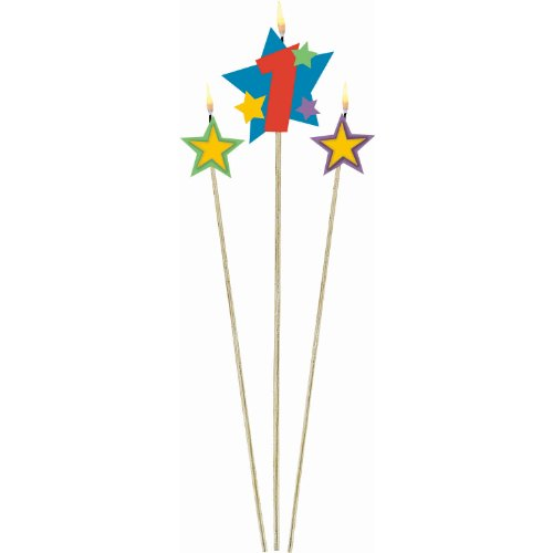 #1 Decorative Birthday Candle & Star Candles  