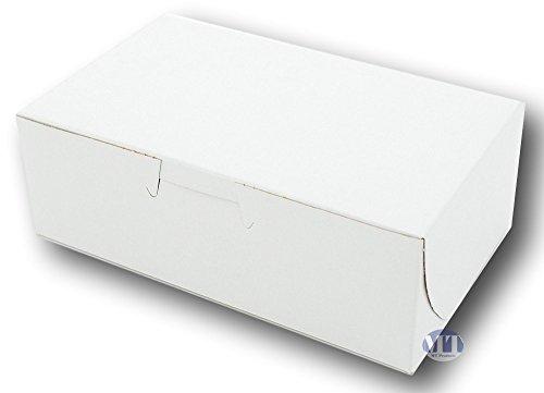 61/10,2cm X 33/10,2cm X 21/20,3cm arcilla Coated Blanco non-window esquina Bakery/Eclair Box por mt Productos...