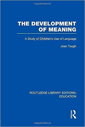 Descargar Gratis Libros The Development Of Meaning (rle Edu I) Documentos PDF