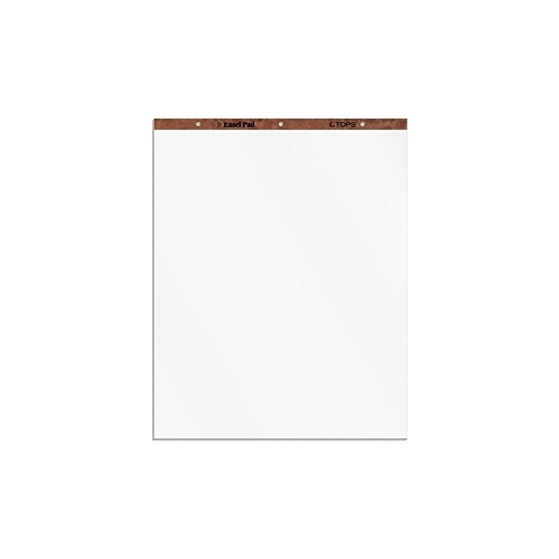 tops-easel-pad-3-hole-punched-white