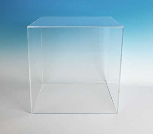 Museum Box Case | 5 Sided Acrylic Cube - 10