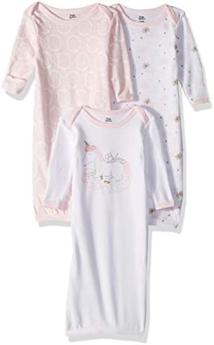 Yoga Sprout Baby Cotton Gowns Nightgown