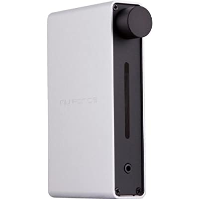 Nuforce ICON-IDO-SILVER Audiophile-Grade DAC and Headphone Amp for Apple Devices