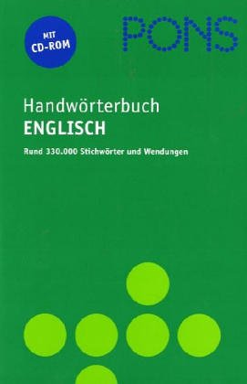 PONS Handwörterbuch für die berufliche Praxis, Engl.-Dt, Dt. -Engl.