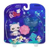 Littlest Pet Shop: Pairs and Portables - Cat with Crystal Cup