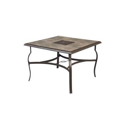Belleville 40 Inch Square Patio Dining Table Review