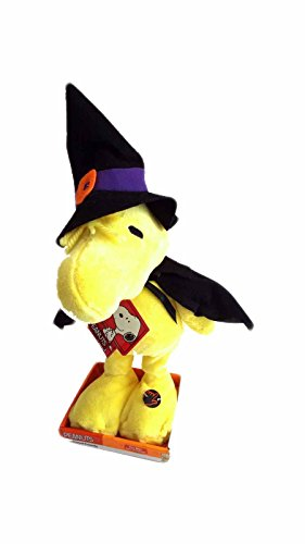 Halloween Peanuts Musical Animated Friends Woodstock Witch Costume 16