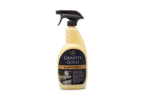 Granite Gold Gg0069 Quartz Brite Spray Deeps Cleans And Polishes Surfaces  24 Ounce
