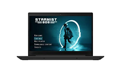 "Lenovo IdeaPad L340 17.3"" Gaming Laptop, Intel core i7-9750H, 8GB RAM,512GB M.2 NVMe QLC SSD, NVIDIA GeForce GTX 1650 4GB GDDR5,6.5 Hours Battery Life 1"