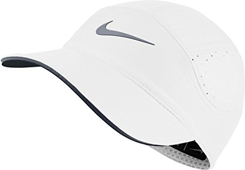 Nike Womens Aerobill TW Elite Adjustable Hat White/Cool Grey 848411-100 by NIKE