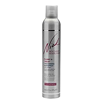 Nick Chavez Beverly Hills Advanced Plump N Thick Thickening Hairspray – Hair Thickener For All Hair Types – Increase Hair Volume And Strengthen Hair – 10 Oz.