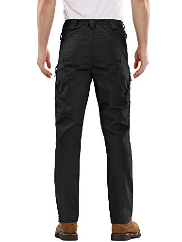 AKARMY Men's Outdoor Work Military Tactical Pants,Ripstop Lightweight Army Airsoft Combat BDU Cargo Pants with 10 Pockets
