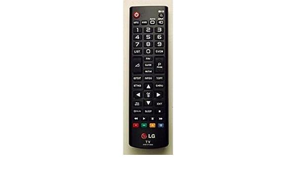 Mando a Distancia Original Television TV LG AKB73715606: Amazon.es: Electrónica