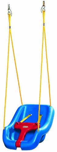 Little Tikes 2-in-1 Snug 'n Secure Swing Blue