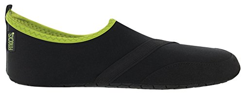 FitKicks MEN's Active Lifestyle Footwear, X-Large, Black