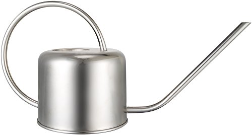 Mkono Stainless Steel Watering Can Small Water Can for Indoor Outdoor,900ML by Mkono