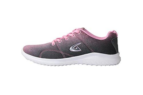 Rêve Chercher 3881l Athlétique Chaussures De Course Gris Rose