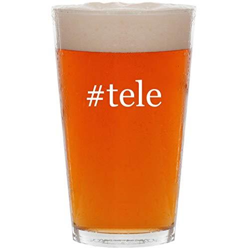 #tele - 16oz Hashtag Pint Beer Glass