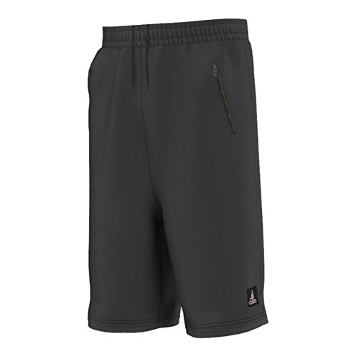 adidas Performance Men's Streetball Fleece Shorts, Dark Grey, XX-Large