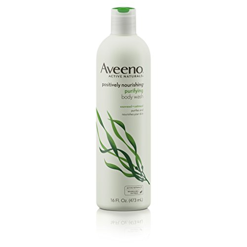 - Aveeno Positively Nourishing Purifying Body Wash, 16 Fl. Oz