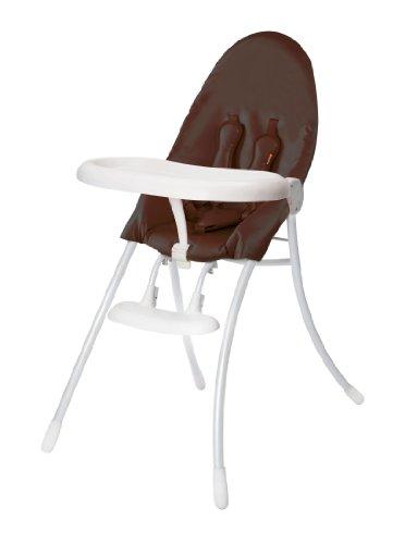 Bloom Nano Urban Highchair, Matt White/Henna Brown