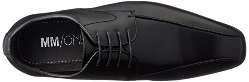 Mm / One Mens Slip On Shoes Per Uomo Mocassini Con Punta Oxford Scarpe Eleganti Nero Nero Marrone Scuro
