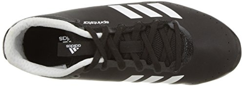 adidas Performance Men's Sprintstar, Core Black/Orange/White, 3.5 M US by adidas (Image #7)